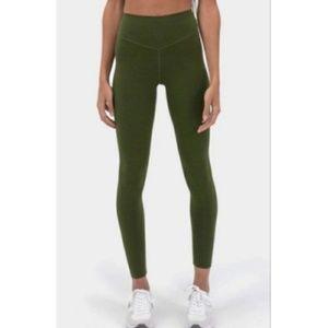 Balance Athletica OG Pant Leggings in Green - XS